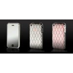Metallic Series Engraved Edition Stitch Silver for iPhone 3G/3GS (AP05-030S/S)