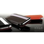 Vogue Leather Collection Tyra Black for iPhone 3G/3GS (AP05-022BLK)