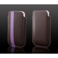 Vogue Leather Collection Luna Brown for iPhone 3G/3GS (AP05-022BRN)