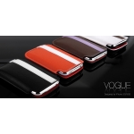 Vogue Leather Collection Claudia White for iPhone 3G/3GS (AP05-022WHT)