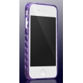 More Color Gem Amethyst Purple for iPhone 4 (AP13-024PUR)