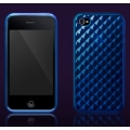 More Diamond Collection Sapphire Blue for iPhone 4 (AP13-025BLU)
