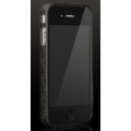 More Trinity Polymer Jelly Ring Dark Gray for iPhone 4 (AP13-028DGY)