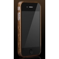 More Trinity Polymer Jelly Ring Brown for iPhone 4 (AP13-028BRN)