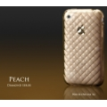 More Diamond Series Peach Beige for iPhone 3G/3GS (AP05-017PEA)