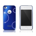 More Noel Collection Lumina Series Cosmo Royal Blue for iPhone 4, 4S (AP13-032BLU)
