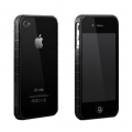 More Tyre Polymer Jelly Ring Black for iPhone 4, 4S (AP17-004BLK)