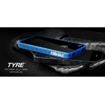 More Tyre Polymer Jelly Ring Blue for iPhone 4, 4S (AP17-004BLU)