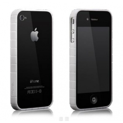 More Tyre Polymer Jelly Ring White for iPhone 4, 4S (AP17-004WHT)