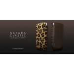 Safara Classic Collection Leopard Brown for iPhone 4, 4S (AP13-002LPD)