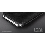 Safara Classic Collection Mustang Black for iPhone 4, 4S (AP13-002MUS)