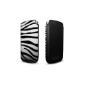 Safara Classic Collection Zebra Black for iPhone 4, 4S (AP13-002ZEB)