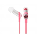 Moshi Dulcia Stylish Personal In-Ear Headphones Pink for iPad, iPhone, iPod