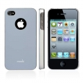 Moshi iGlaze 4 Arctic Silver for iPhone 4, 4S