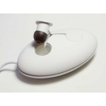 Moshi MoonRock Personal In-Ear Headphones White for iPad iPhone iPod