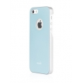 Moshi iGlaze Coral Blue for iPhone 5, 5S (99MO061501)