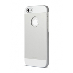 Moshi iGlaze Armour Silver for iPhone 5, 5S (99MO061201)