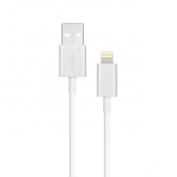 Moshi Lightning to USB Cable White (1M) (99MO023119)