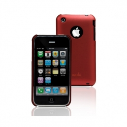 Plastic Case Moshi iGlaze 3G for iPhone 3G/3GS Cranberry Red