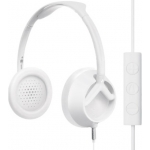 Nixon The Trooper 3-Button Mic Storry Over-Ear Headphones - Matte White (H018_NX00_2030)