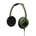 Nixon The Trooper 3-Button Mic Storry Over-Ear Headphones - Matte Green (H018_NX00_2050)