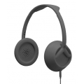 Nixon The Trooper 3-Button Mic Storry Over-Ear Headphones - Matte Grey (H018_NX00_2186)