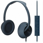 Nixon The Trooper 3-Button Mic Storry Over-Ear Headphones - Matte Navy (H018_NX00_2229)