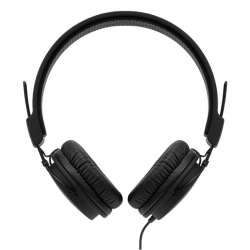 Nocs NS700 Phaser iOS Headphones with Remote and Mic All Black (NS700-001)