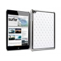 Designer Diamond Cover for iPad Mini - White