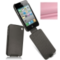 Noreve Housse Сuir Tradition Rose Pink for iPhone 4 (21103T5)