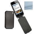 Noreve Housse Сuir Tradition Baby Blue for iPhone 4, 4S (21103T6)