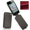 Noreve Housse Сuir Tradition Rouge Red for iPhone 4 (21103T7)
