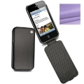 Noreve Housse Сuir Tradition Lilas Purple for iPhone 4, 4S (21103T13)