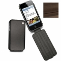 Noreve Housse Cuir Tradition Sandy Vintage for iPhone 4, 4S (21103T11)
