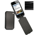 Noreve Housse Cuir Tradition Onyx for iPhone 4, 4S (21103T21)
