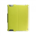 Optima Case PU Leather for iPad 4, iPad 3, iPad 2 - Chroma Series - Light Green (OTM-ANNT-L)
