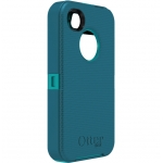 Otterbox iPhone 4, 4S Defender Series Case & Clip Teal (APL2-I4SUN-E8-E4OTR_B)