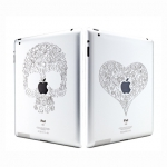 Ozaki iCoat Relief Love for iPad, iPad 2 (IC830LO)