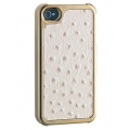 Ozaki iCoat Extinction Arabian Ostrich B for iPhone 4, 4S (IC865AOB)