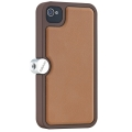 Ozaki O! Photo Gear Brown/Brown for iPhone 4, 4S (OP863BR/BR)