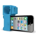 Ozaki O! Music Zoo Hippo Blue for iPhone 4, 4S (OM926HA)