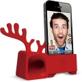 Ozaki O! Music Zoo Santa Deer Red for iPhone 4, 4S (OM926DB)