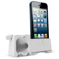 Ozaki O!music Zoo Dog White for iPhone 5, 5S (OM936GB)