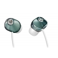 Panasonic Swarovski Zr02 Couture Stereo Earphones Blue (RP-HJF7PP-A)