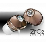 Panasonic Swarovski Zr02 Couture Stereo Earphones Brown (RP-HJF7PP-T)