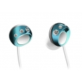 Panasonic Swarovski Zr02 Couture Stereo Earphones Turquoise Blue (RP-HJF5PP-A)