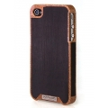 Patchworks Liquidwood Busche&Ebony New Case for iPhone 4, 4S