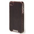 Patchworks Liquidwood Kokos&Ebony New Case for iPhone 4, 4S