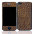 Patchworks Wood Skins Sapele Burl for iPhone 4, 4S (1004)