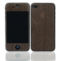 Patchworks Wood Skins Ebony Natural for iPhone 4, 4S (1006)